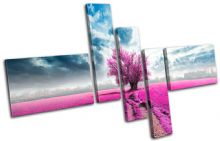 Surreal Tree Pink Landscapes - 13-0580(00B)-MP18-LO